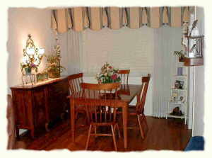 redecorating dining room