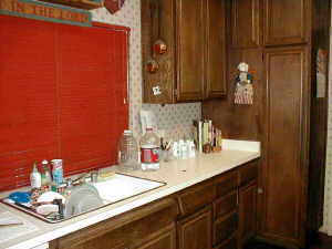 redecorate kitchen, before pic