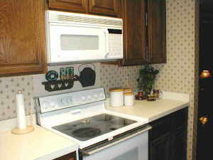 decorating kitchen, after pic
