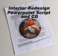 interior redesign script and CD