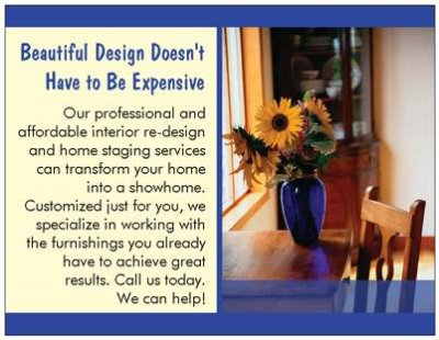 home staging postcards