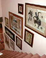 gallery walls, wall groupings